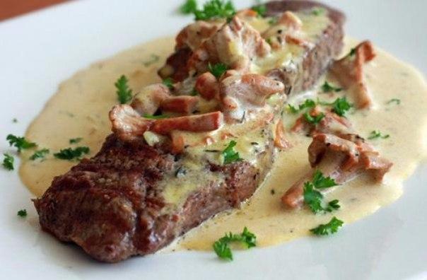 Классический грибной соус к мясу