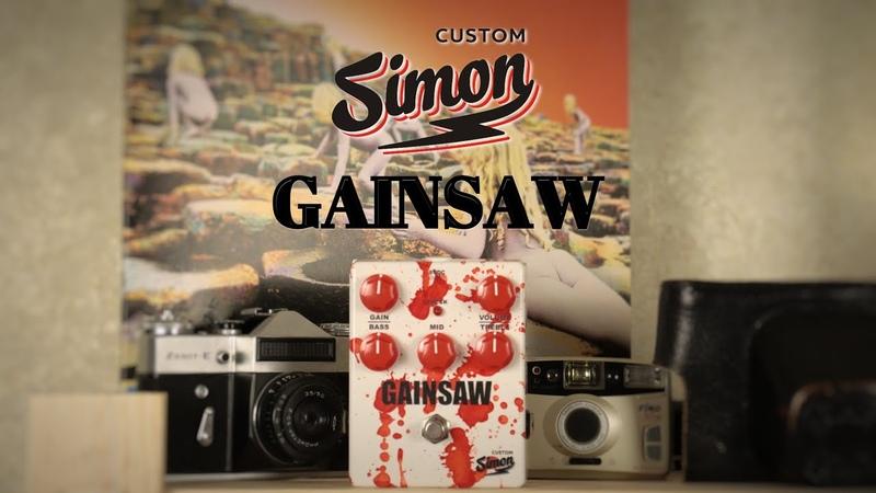 Simon Custom GAINSAW Distortion