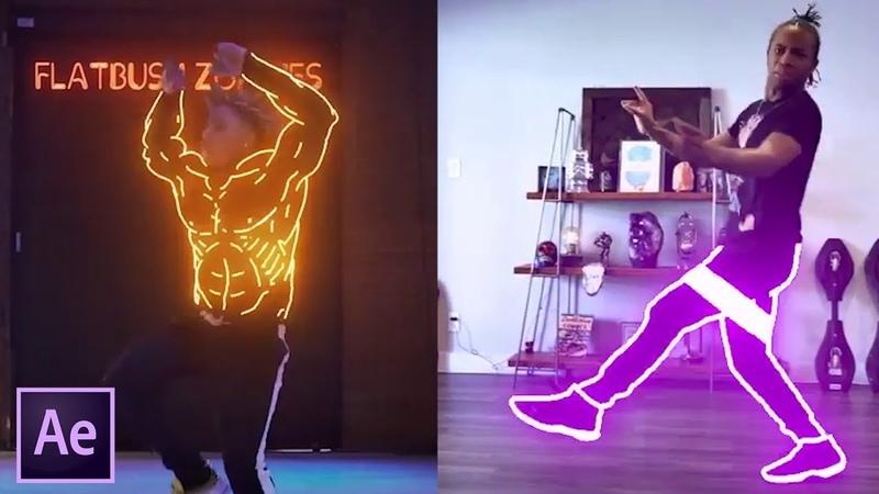 Glowing Lines Effect in After Effects   Blottermedia Dance Effects