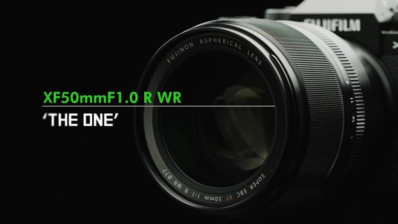 FUJINON XF50mmF1.0 R WR Продуктовое видео (англ. субтитры)