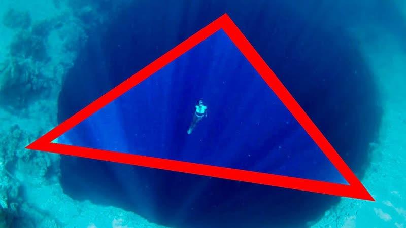 Вот Кто Живёт на Дне Бермудского Треугольника