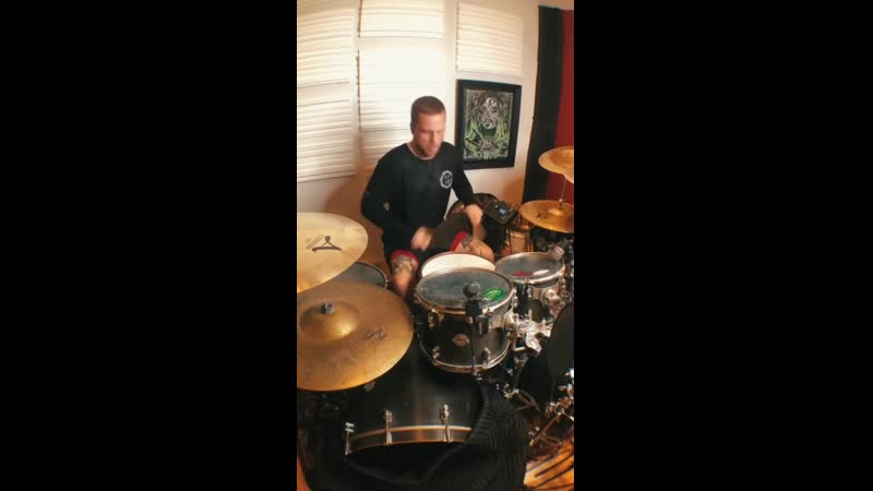 Tanner Wayne In Flames Freak on A Leash Drum Cover