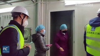 Huoshenshan Hospital ready to join in battle against coronavirus