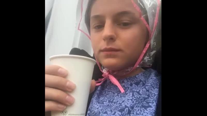 2019 Удалённая публикация в Instagram Эммы Съёмки 4 сезона сериала Гранчестер