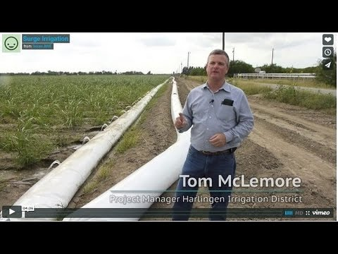 What is Surge Irrigation