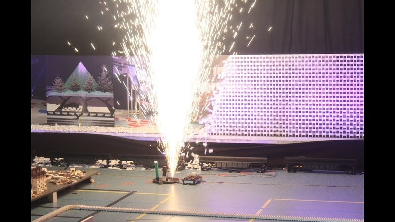 600 000 Dominoes Celebrating Anniversary 10 Years SDE 3 Guinness World Records