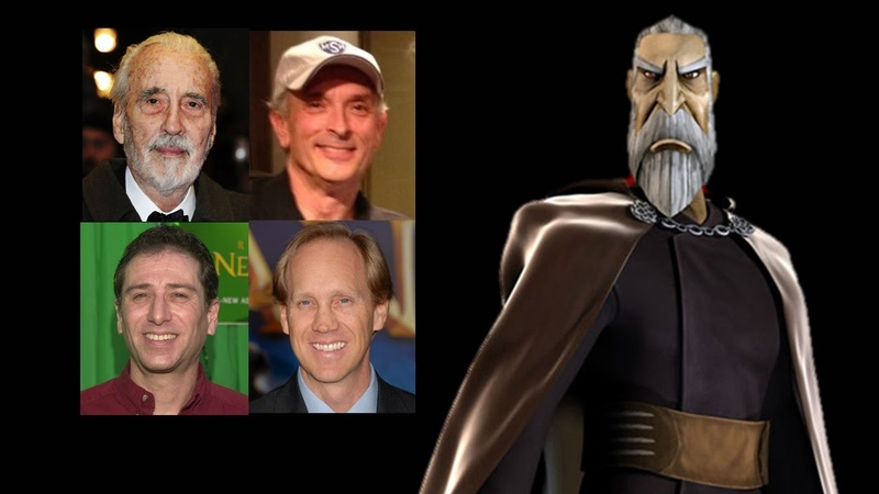 Comparing The Voices - Count Dooku