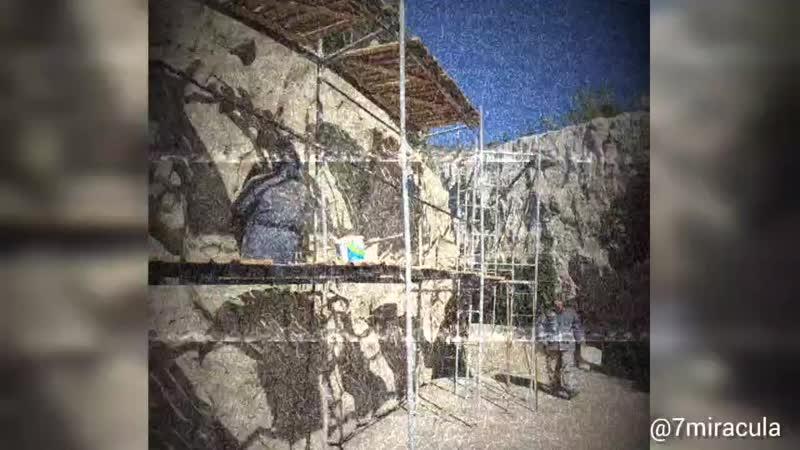 Скалы из арт-бетона