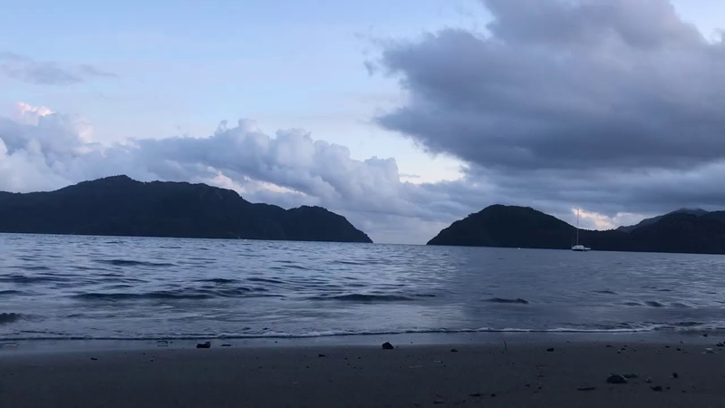Звуки природы. Вечернее небо. Звуки для сна. Шум моря.