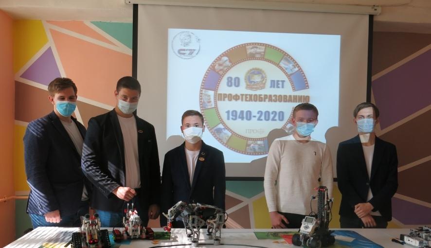 Студенты Петровского политеха представили свои проекты по робототехнике