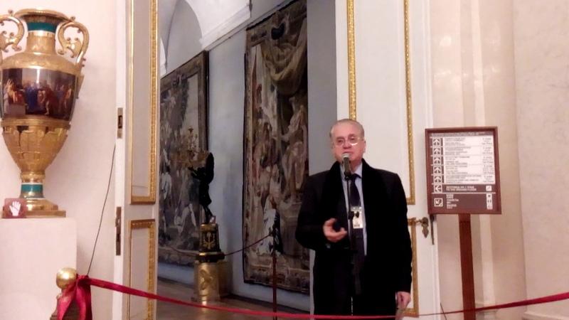 Открытие выставки Культура и быт Древней Руси и Московского царства IX XVII веков в Эрмитаже 1