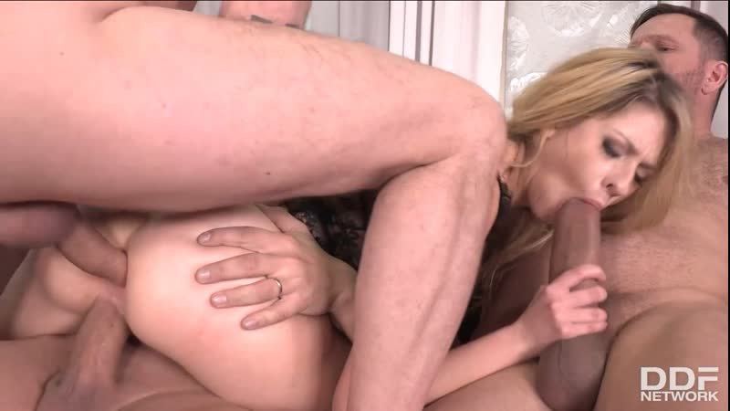 Rebecca Volpetti Must See Double Penetration Orgy All Sex Anal DP Toys Dildo Doggystyle, Porn,
