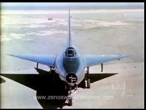Test Flights of the Convair 7002 - XF92A Delta Wing Jet - 1948