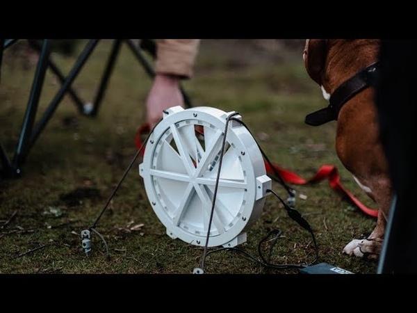 GIGA A Portable Wind Turbine for USB Charging