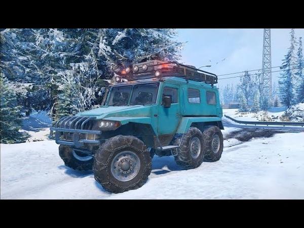 SnowRunner YAR 87 Оффроуд Тест драйв