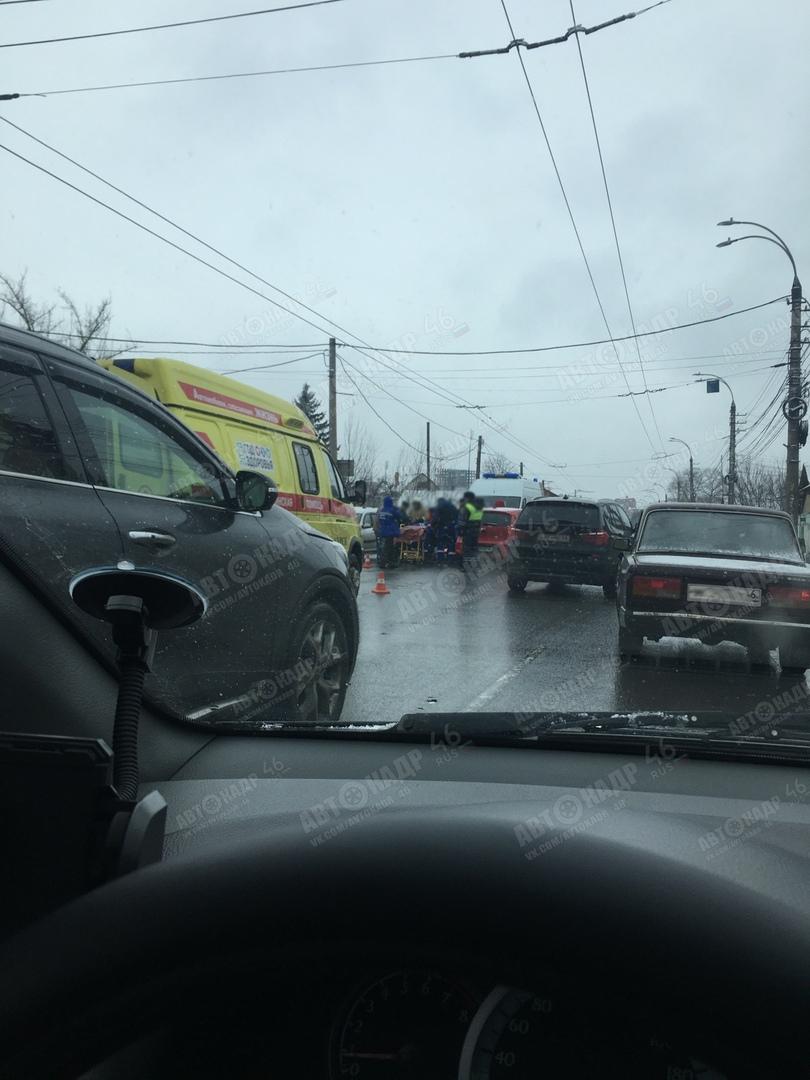 В Курске юная автомобилистка сбила пенсионерку