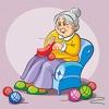 Бабушка вяжет: описание и схемы вязания спицами