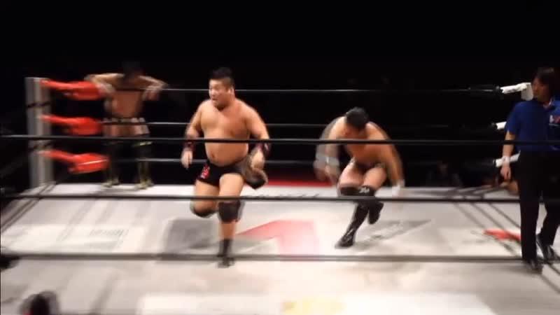 Kaz Hayashi, Daiki Inaba Koji Doi vs. Shotaro Ashino, Kuma Arashi Koju Takeda