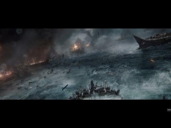 Битва Римлян против Греков в море Бен Гур 2016