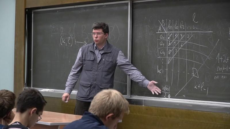 Шапошников С. В. - Математический анализ I - Декартово произведение. Теорема Кантора