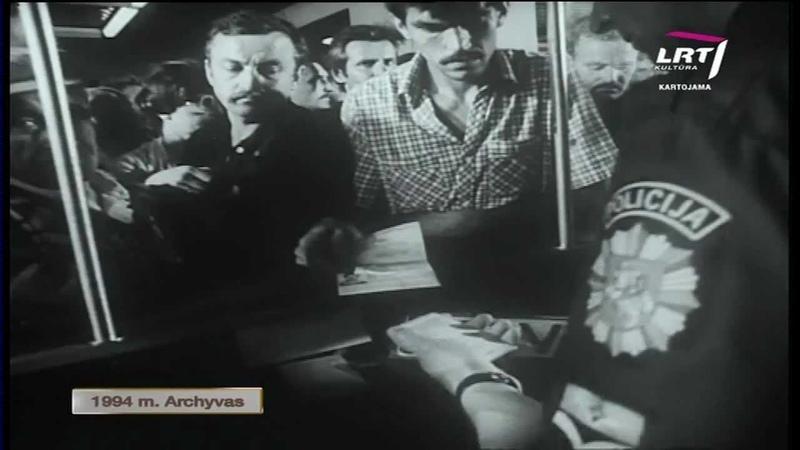 """Iš legendinės Lietuvos televizijos laidos """"Keliai Mašinos Žmonės archyvų 1994 WEB"""