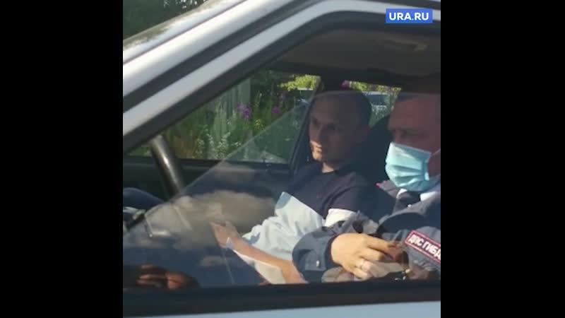 Охранники монастыря отца Сергия скрутили екатеринбургского журналиста