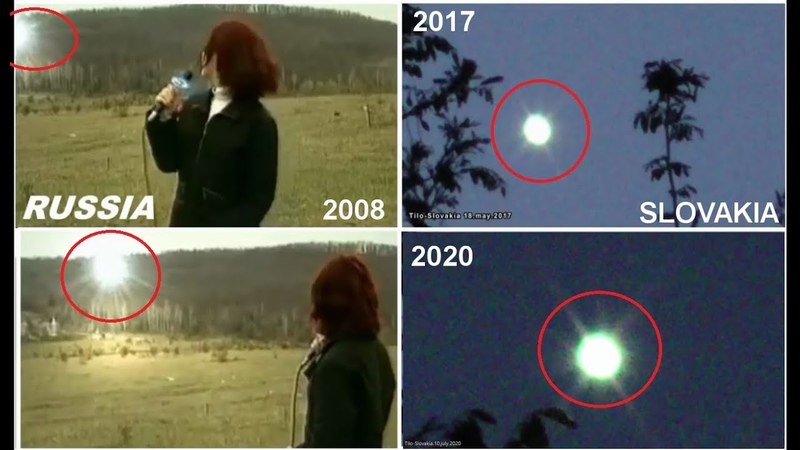 Mysterious lights balls In Russia and Slovakia 2008 2020