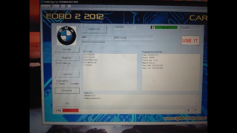 Chip Tuning M57D30 или как прошить своими руками
