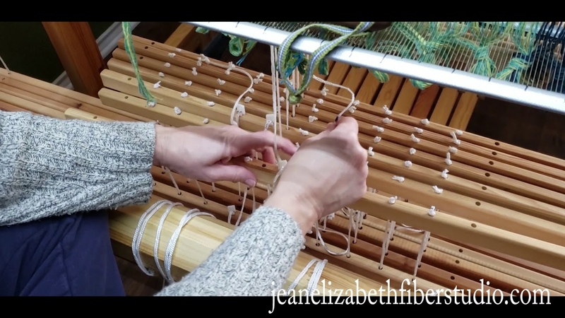 More Top O' The Lamm Tie Up and Sleying the Reed