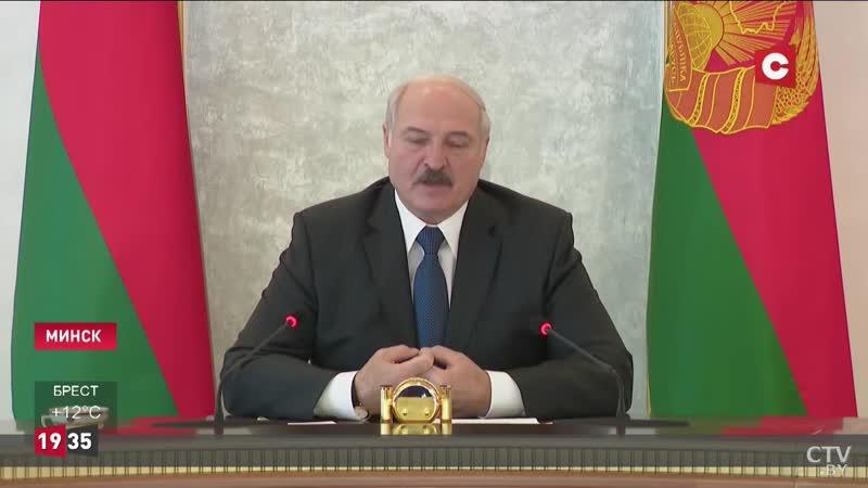 Лукашенко о коронавирусе Камни в меня не бросает только ленивый Разговор с Додоном