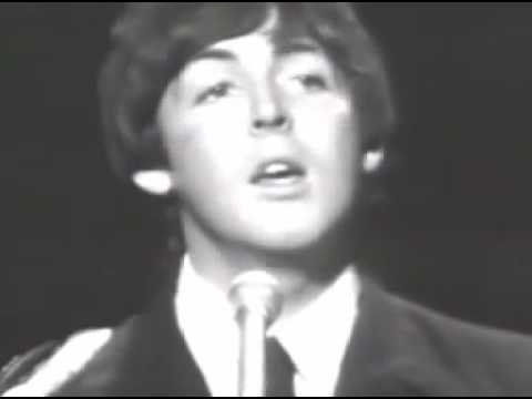 The Beatles Paul McCartney Yesterday 1965 live