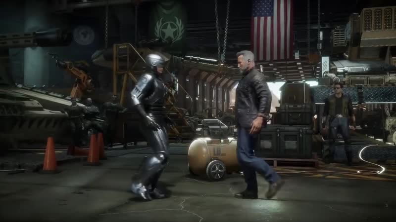 Mortal Kombat 11 - ROBOCOP vs TERMINATOR Gameplay @ 1080p ✔