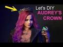 Descendants 3 Queen of Mean Audrey Crown Halloween costume Cosplay DIY Maleficent Dollar Tree
