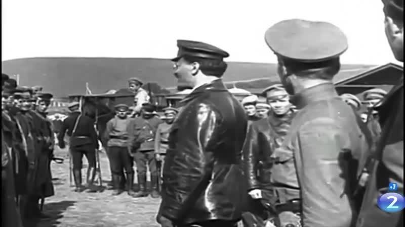 Троцкий Л.Д. - сохранившиеся подлинные фрагменты киносъемок и фотографии (1917 - 1940).