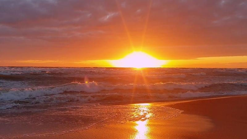 Įspūdingas saulėlydis Melnragėje 2020 05 16 loveklaipeda