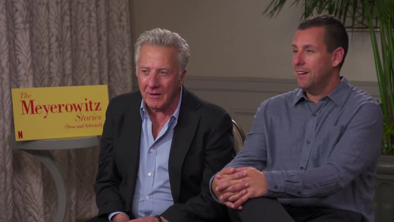 Just a very laid back conversation with Dustin Hoffman and Adam Sandler about testosteron