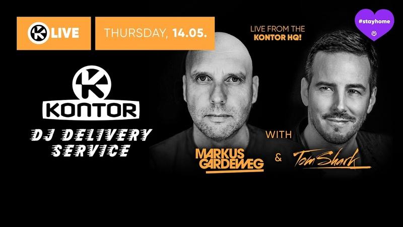 Markus Gardeweg Tom Shark Kontor DJ Delivery Service 💜