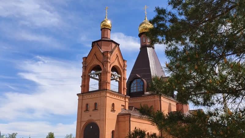 Храм в честь Феодоровской иконы Божией Матери р п Озинки 24 мая 2020 г