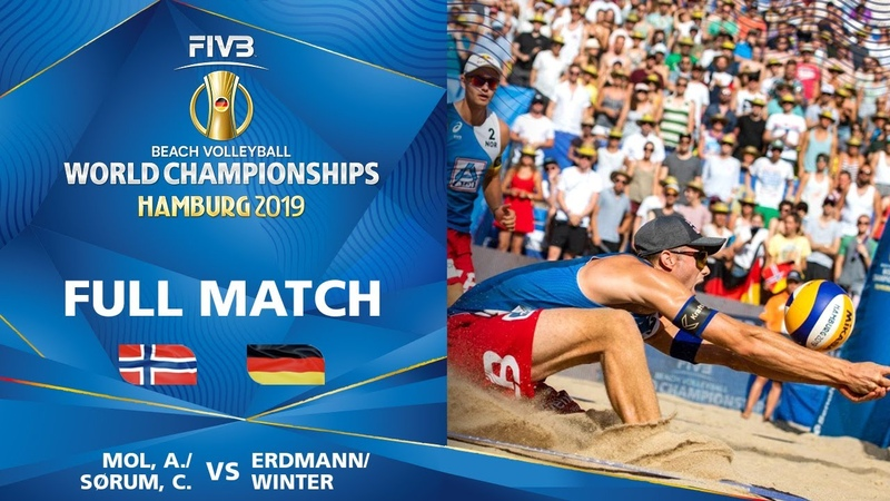 MolSorum vs. ErdmannWinter - Full Match | Beach Volleyball World Champs Hamburg 2019