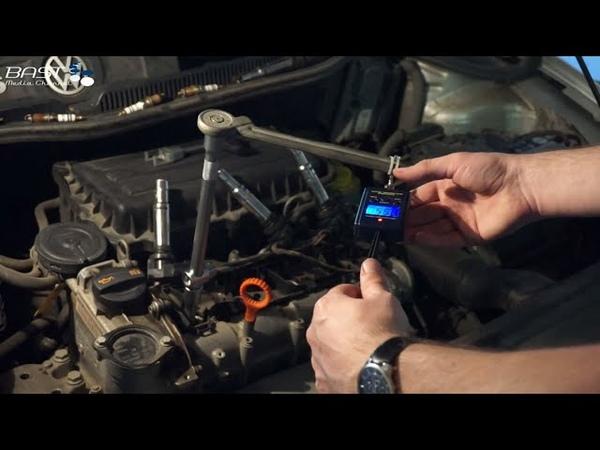 Замена свечей зажигания 61 000 км Volkswagen Polo Sedan Самодельный динамометрический ключ