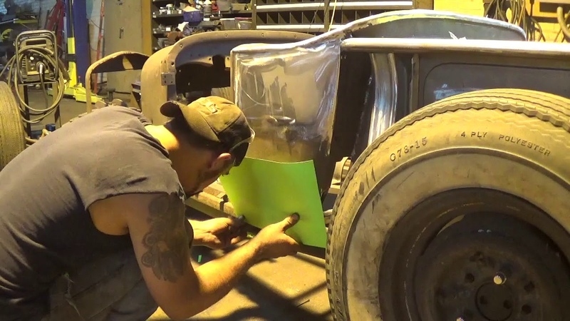 Briggs Body T- Bucket- Hot Rod- Pedals and Floor pan Fabrication